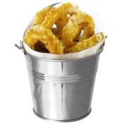 Stainless Steel Serving Bucket 12cm | Mini Bucket, Metal Bucket, Chip Bucket