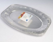 Pack of 3 Medium 43cm Foil Platters