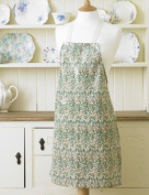 Laura's Beau Licenced William Morris Design Sweet Briar Pvc / Oilcloth Floral Wipe CleanApron