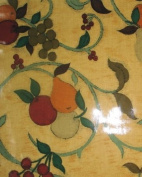 THE TABLECLOTH SHOP Apples and Pears Oilcloth Tablecloth 2.5m Metres
