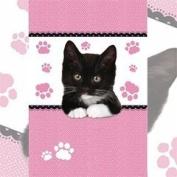 Kitten Paws Tea Towel