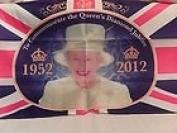 Queen Jubilee Tea Towel 75x50