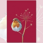 Red Red Robin Tea Towel