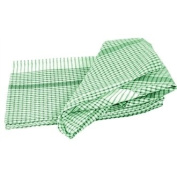 Wonderdry Tea Towels Green 95% cotton & 5% polyester Qty 10