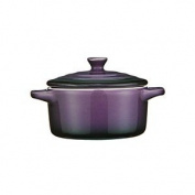 Premier Housewares Ovenlove Stoneware Mini Casserole Dish With Lid Purple 230ml