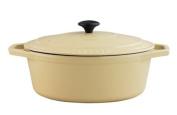 Chasseur Cast Iron 29cm, 3.8ltr Oval Cream Casserole