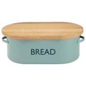 Summer House Blue Bread Bin | Vintage Kitchen Bread Bin