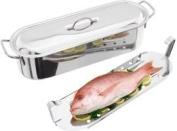 Horwood S/Steel 60cm Fish Poacher