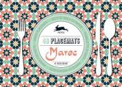 Maroc: 48 Placemats: 6 Designs