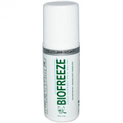 Biofreeze Pain Relief Gel for Arthritis, 90ml Roll-on Topical Analgesic, Fast Acting and Long Lasting Cooling Pain Reliever Cream for Muscle Pain, Joint Pain, Back Pain,Colourless Formula