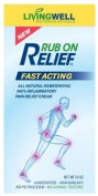Rub On Relief® 90ml - All-Natural Pain Relief Cream and Anti-Inflammatory. Fast, Safe Relief for All Types of Joint and Muscle Pain