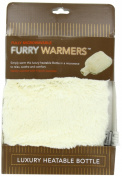 Furry Warmers Fully Microwavable Furry Bottle Cream