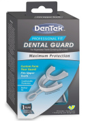 Dentek Professional Fit Dental Guard Maximum Protection For Nighttime Teeth Grinding (Bruxism) With 1-Year Guarantee