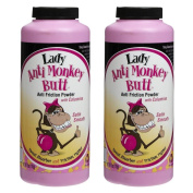Anti Monkey Butt Lady Powder 180ml - 2 Pack