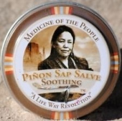 3 Tins of Navajo Medicine Of The People Pinon Sap Salve Soothing for Burns 20ml each, Outstanding Product