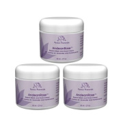 AndeanRose Stretch Mark and Scar Cream with Rosa Mosqueta, 3 - 60ml Jars, Best Value Pack