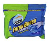 Scrubbing Bubbles Fresh Brush Flushable, Citrus, 12-Count Refills