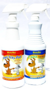 ANTI ICKY POO odour REMOVER AND P-BATH PRE-TREATER COMBO