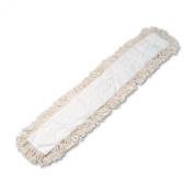 Unisan Industrial Dust Mop Head, Hygrade Cotton, White