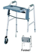 Guardian Folding Flip Tray for Walker Grey Plastic [Health and Beauty]