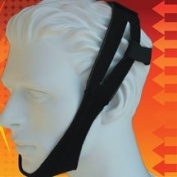 AG Premium Black Chin Strap In Front of Ear Style, each