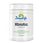 Zenulife Xbiotic Anti Candida Cure Thrush/ Yeast/ Fungal and Bacterial Infections - Pack of 60 Capsules