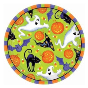 Scary Fun Luncheon Plates, 18cm .