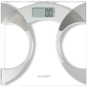 Taylor 5741f Body Fat and Body Water Scale Measures Glass, 350-Pounds
