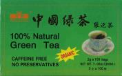 100% Natural Green Tea 20 Tea Bags