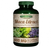 Maca Root Extract 600 Mg - 90 Capsules