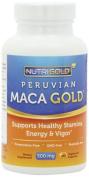 Nutrigold Maca Gold (Organic), 500 mg, 180 veg. capsules