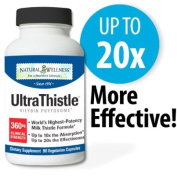 Natural Wellness UltraThistle, 90 360 mg Capsules - Support & Protect Your Liver With The Most Absorbable & Potent Milk Thistle Formula On The Market