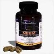 Neem Leaf Capsules High Potency 1200 mg + FREE 30ml NEEM OIL