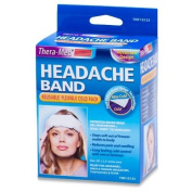Thera-med Headache Band - Flexible, Reusable Cold Pack