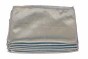 Lint-free Premium Microfiber Glass Towel, 10 Pack