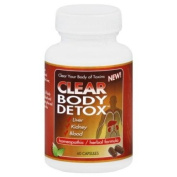 Clear Products Clear Body Detox, 60 Caps