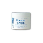 Miracle of Aloe Rosacea Cream 60ml Helps Reduce Redness & Inflammation, Repairs Damaged Skin from Sunburns, Helps Mask Unsightly Redness! This Exclusive Gentle & Soothing Formula Shields Your Skin From Sun and Promotes Healing. Will Reduce Redness and ..