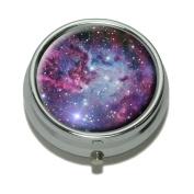 Fox Fur Nebula - Galaxy Space Pill Case Trinket Gift Box