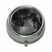Moon Space Pill Case Trinket Gift Box