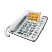 Rca 11241Wtga White Corded Telephone Amplified Speakerphone