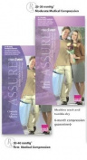 Medi Assure Closed Toe Pantyhose - 20-30 mmHg Black Large Compression Pantyhose/Waist-Highs Reg 141-L-BLACK