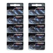 Energizer 393 Silver Oxide 10 Batteries