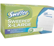 Swiffer Sweeper X-Large Dry Sweeping Cloth Refills Unscented 19 Count