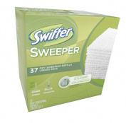 Swiffer Sweeper Dry Sweeping Cloths Mop And Broom Floor Cleaner Refills Unscented 37 Count