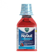 Vicks Vicks Nyquil Alcohol Free Cold And Flu Nighttime Relief Liquid Soothing Berry Flavour