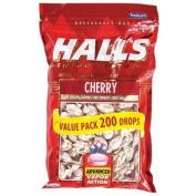 Halls Mentho-Lyptus Cough Suppressant - 200 Cherry Drops