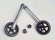 Invacare 13cm . Fixed Wheels with Rear Glide for Walkers