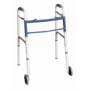 Two Button Walker with Wheels