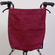 Rear Hanging Wheelchair Bag - Burgundy