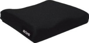 Drive Medical 14881 Moulded General Use Wheelchair Seat Cushion, Black, 4.4cm